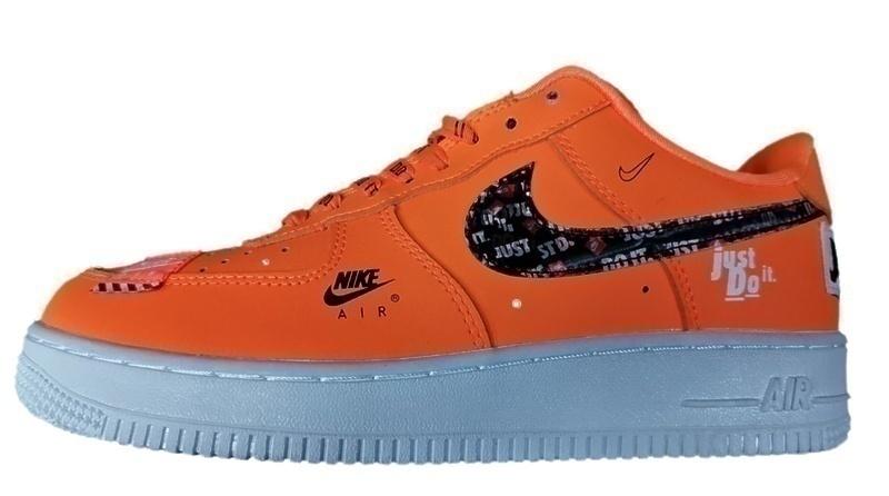 Кроссовки Nike air force 1 hologramm orange фото в «GetKeds»