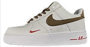 Кроссовки Nike air force 1 low '07 3 'White brown