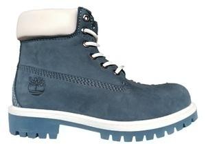 Ботинки Timberland Classic blue  Nubuck