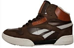 Ботинки REEBOK CLASSIC LEATHER MID (TRIPLE brown)