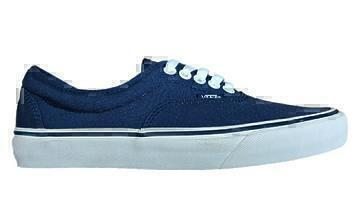 Кроссовки vans  AUTHENTIC Era blue - marshmallow vn - 0 EWZNVY