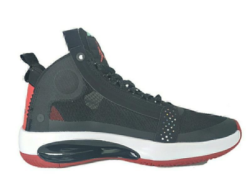 nike air jordan xxxlv black red  фото #3 в «GetKeds»