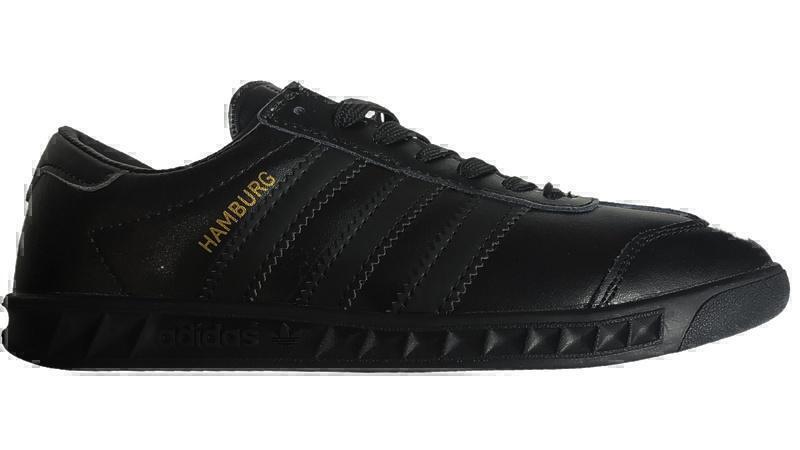 Кеды Adidas hamburg black  фото в «GetKeds»