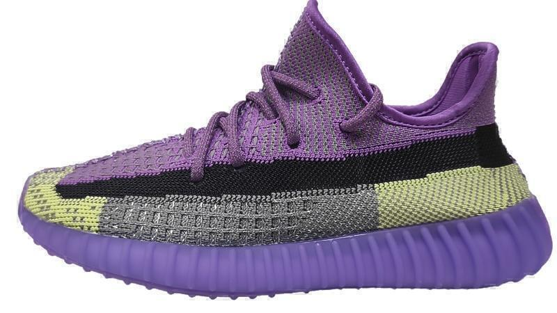 Кроссовки Adidas yeezy boost v2 350 purple фото в «GetKeds»