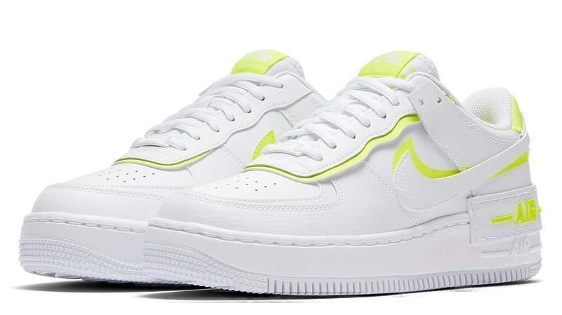 Nike air force 1low white lemon фото #4 в «GetKeds»