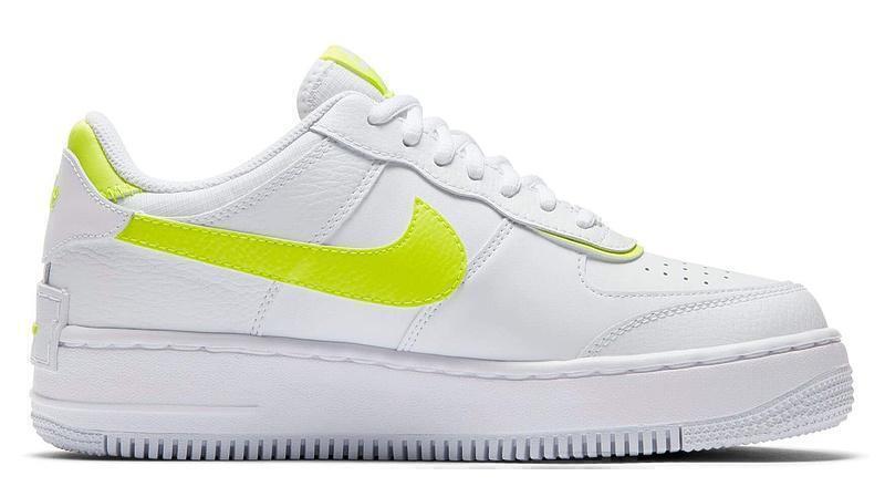 Кроссовки Nike air force 1low white lemon фото в «GetKeds»