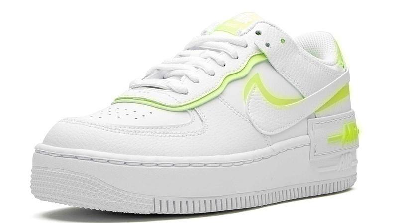 Nike air force 1low white lemon фото #3 в «GetKeds»