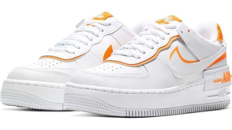 Nike air force 1 low shadow white orange фото #3 в «GetKeds»