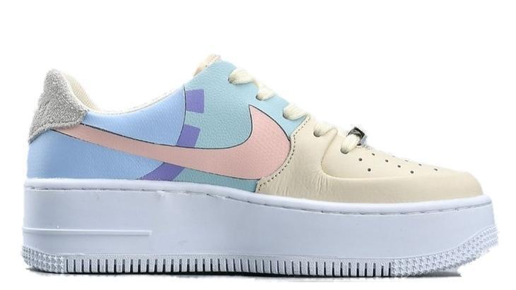 Кроссовки Nike Air Force 1 Sage LX color фото в «GetKeds»