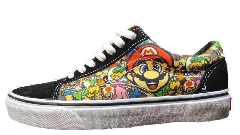 Кеды Vans old scool super mario  фото в «GetKeds»