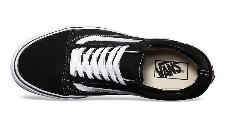 Vans old scool black white  фото #7 в «GetKeds»