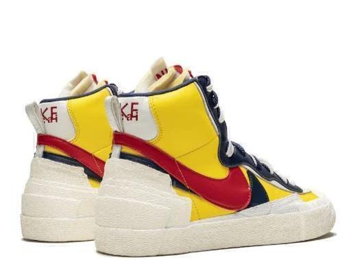 Nike blazer mid yellow фото #2 в «GetKeds»