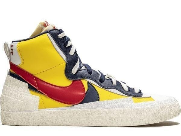 Кроссовки Nike blazer mid yellow фото в «GetKeds»