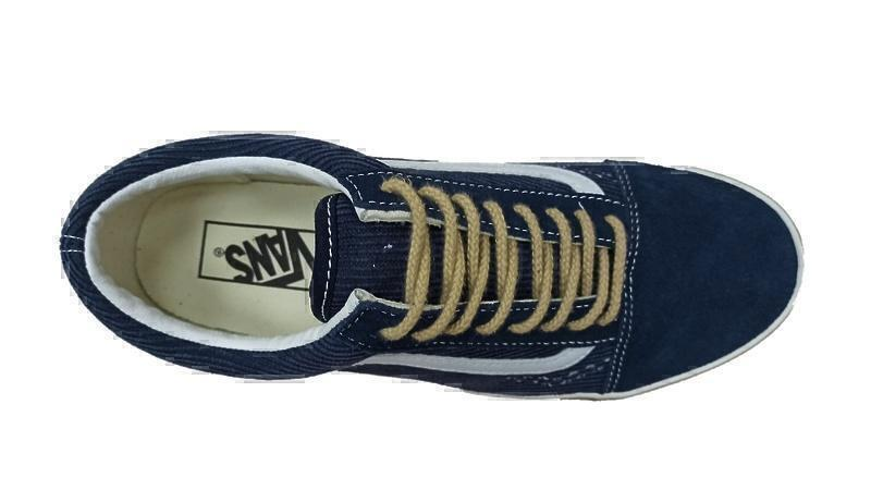 VANS CORDUROY OLD SKOOL 36 DX OG синий ВЕЛЬВЕТ фото #2 в «GetKeds»