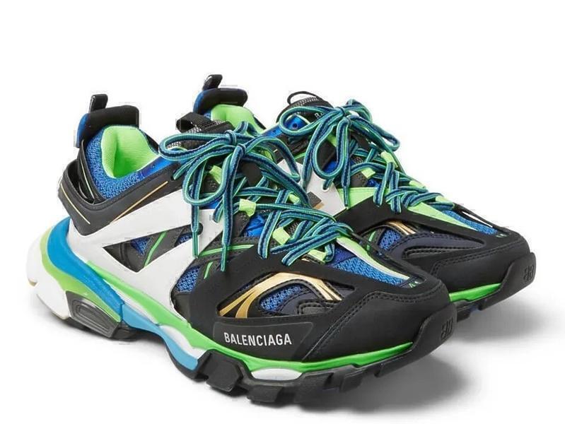 Balenciaga track blue фото #4 в «GetKeds»