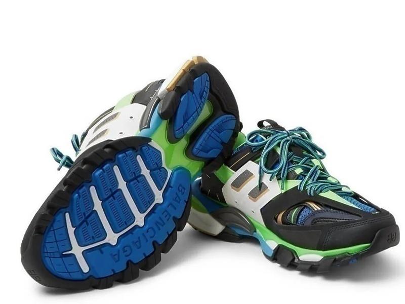 Balenciaga track blue фото #2 в «GetKeds»