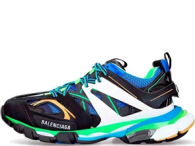 Кроссовки Balenciaga track blue фото в «GetKeds»