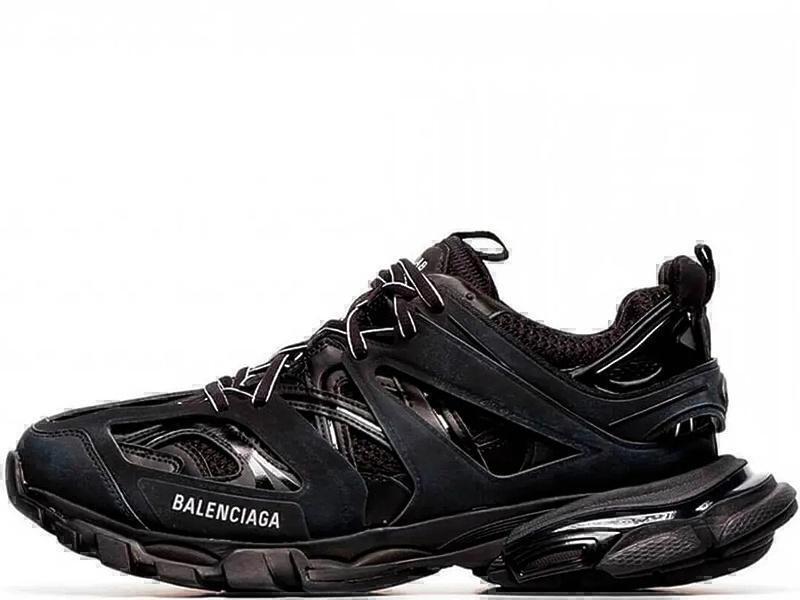 Кроссовки Balenciaga track black  фото в «GetKeds»