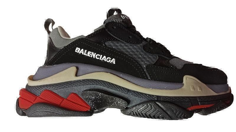 Кроссовки Balenciaga Triple S  dark grey фото в «GetKeds»