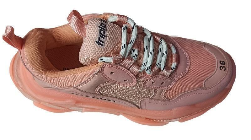 Balenciaga Triple S Clear Sole Pink фото #2 в «GetKeds»