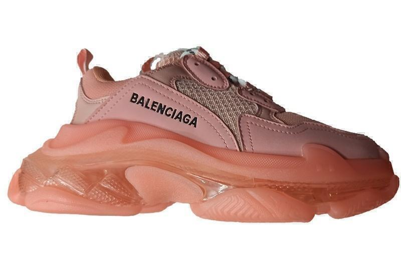 Кроссовки Balenciaga Triple S Clear Sole Pink фото в «GetKeds»