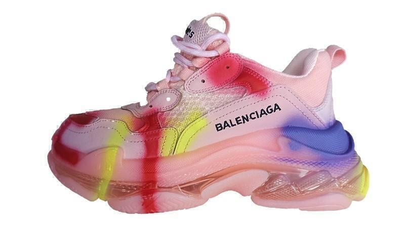 Кроссовки Balenciaga triple s color pink фото в «GetKeds»