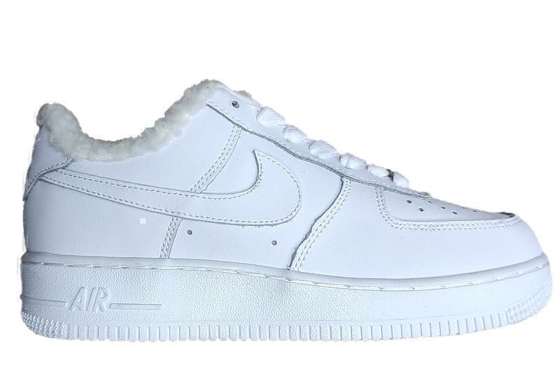 Кроссовки Nike air force 1 white fur фото в «GetKeds»