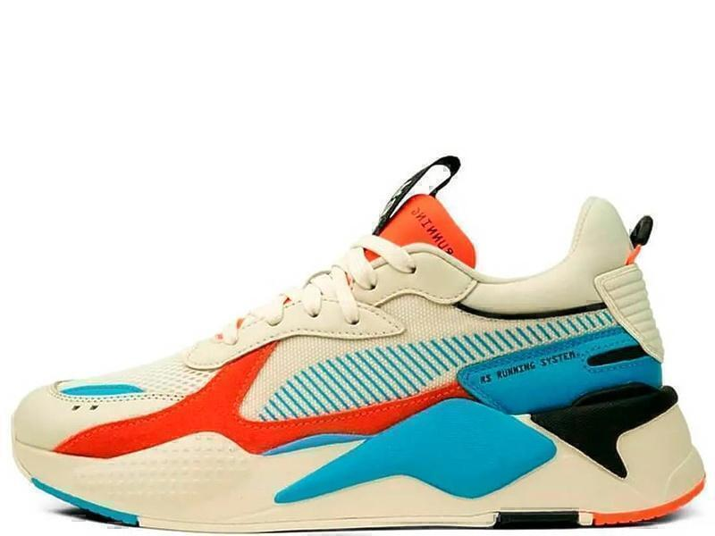 Кроссовки Puma RS-X Reinvention Blue/Red фото в «GetKeds»