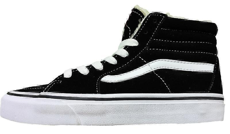 Кеды Vans Old Skool With Fur (Black/White) фото в «GetKeds»