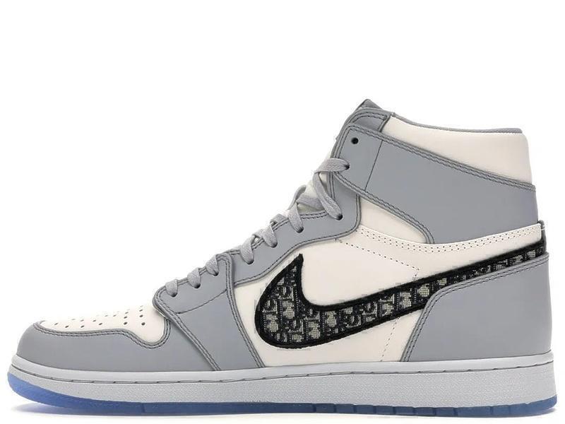 Кроссовки Nike Air Jordan 1 Retro Dior фото в «GetKeds»