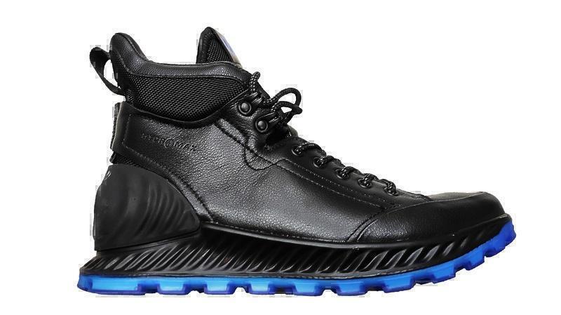 Ботинки EccoECCO EXOSTRIKE black / blue фото в «GetKeds»