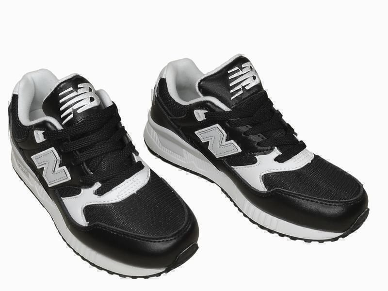 New Balance 530 Athleisure X (Black/White) фото #2 в «GetKeds»