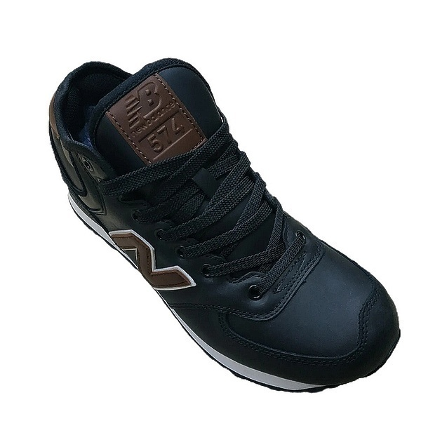 New balance 574 mid (fur) black фото #2 в «GetKeds»