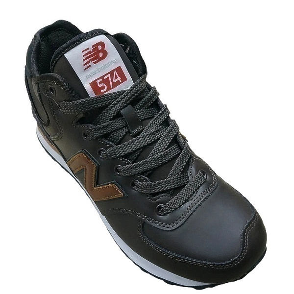 New balance 574 mid (fur) brown  фото #2 в «GetKeds»