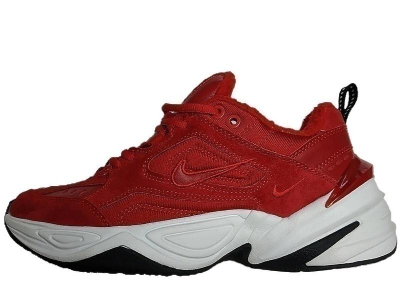 Кроссовки Nike m2k tekno red  фото в «GetKeds»