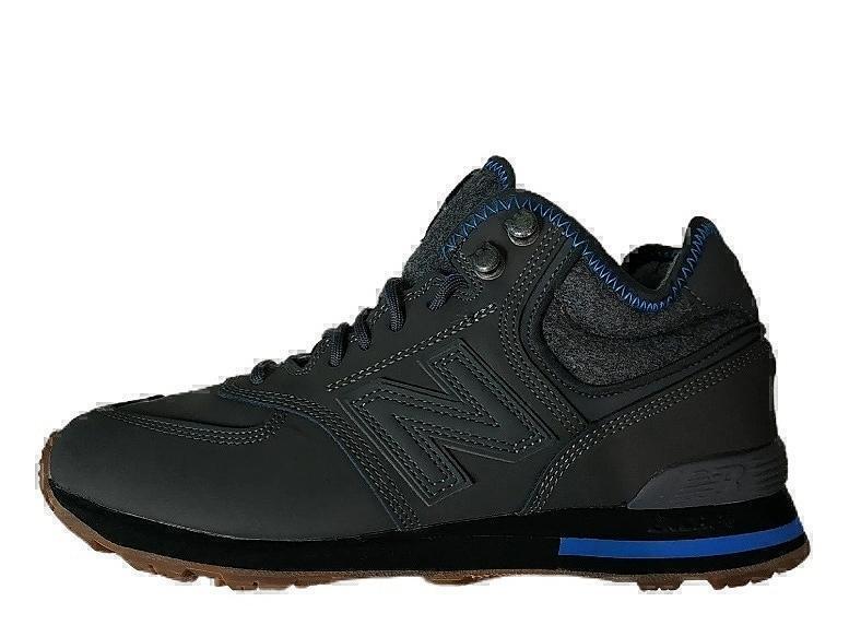 Ботинки New balance 574 mid grey winter фото в «GetKeds»