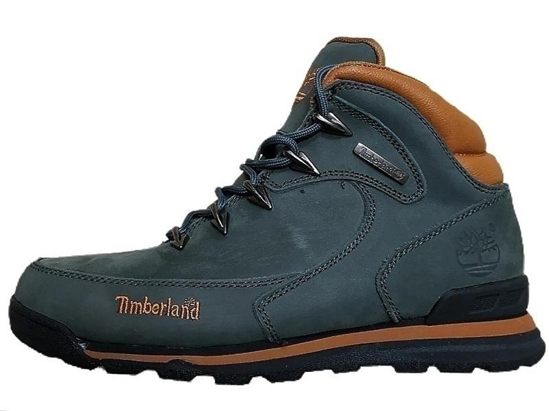 Ботинки Timberland Euro Sprint II (Dark green) (С мехом) фото в «GetKeds»