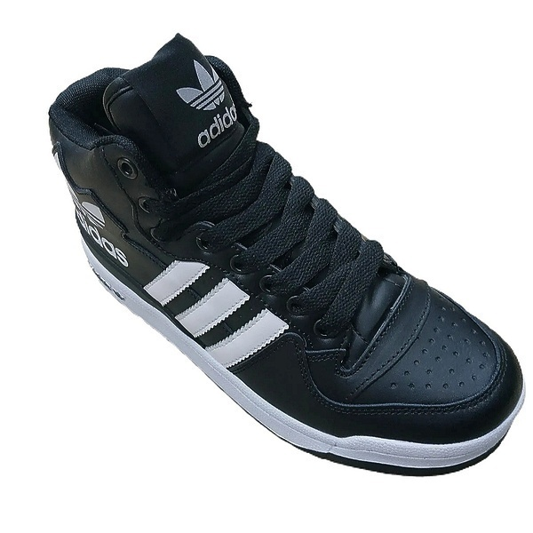 Adidas forum mid rs xl (fur) black white  фото #2 в «GetKeds»