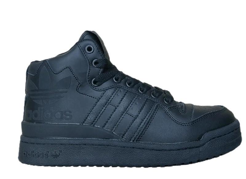 Кроссовки Adidas forum mid rs xl (fur) black  фото в «GetKeds»