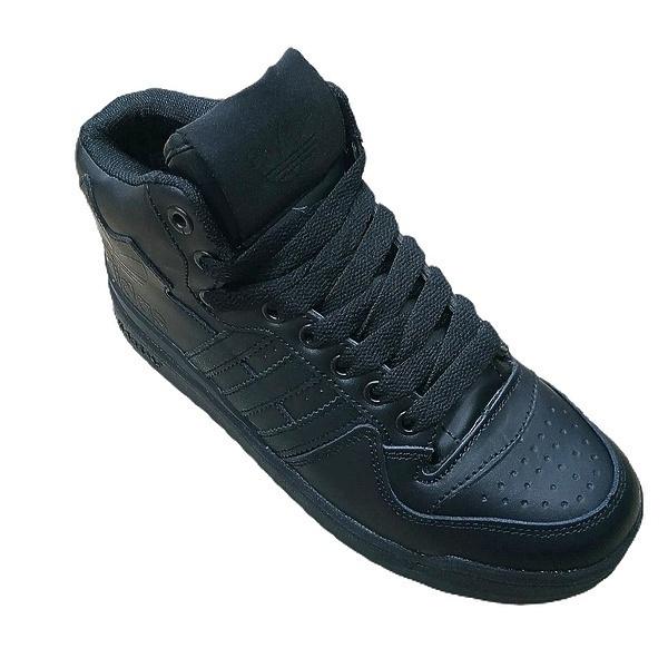 Adidas forum mid rs xl (fur) black  фото #2 в «GetKeds»