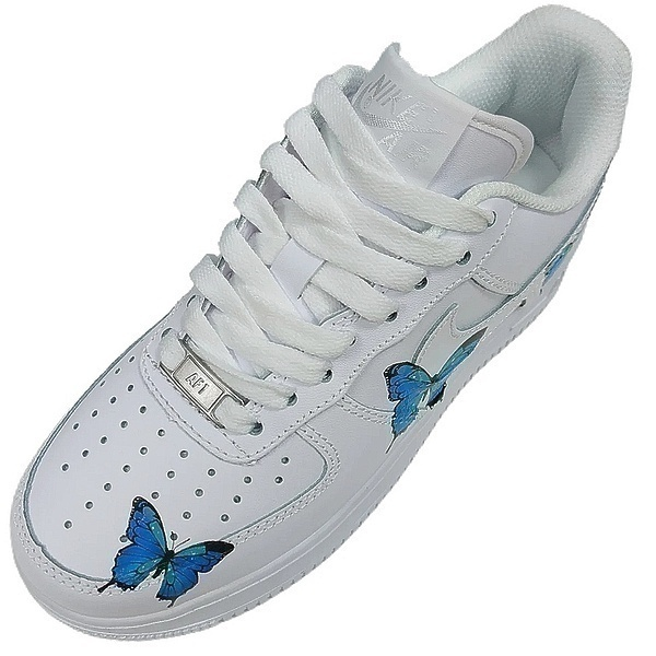 Nike Air Force 1 Low Blue Butterfly  фото #2 в «GetKeds»