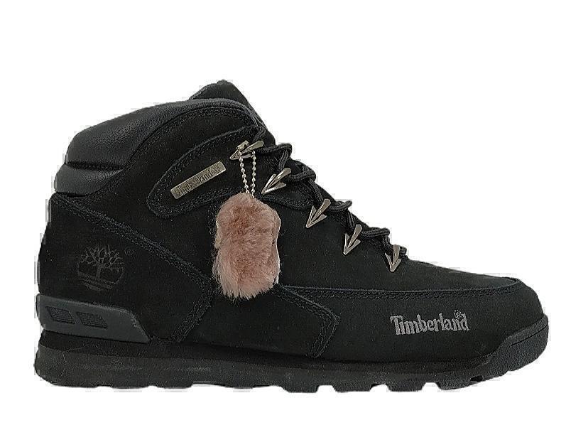 Ботинки Timberland Euro Sprint II (all black ) (С мехом) фото в «GetKeds»