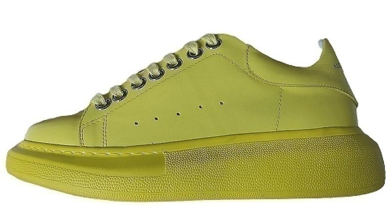 Кроссовки Alexander McQueen yellow фото в «GetKeds»