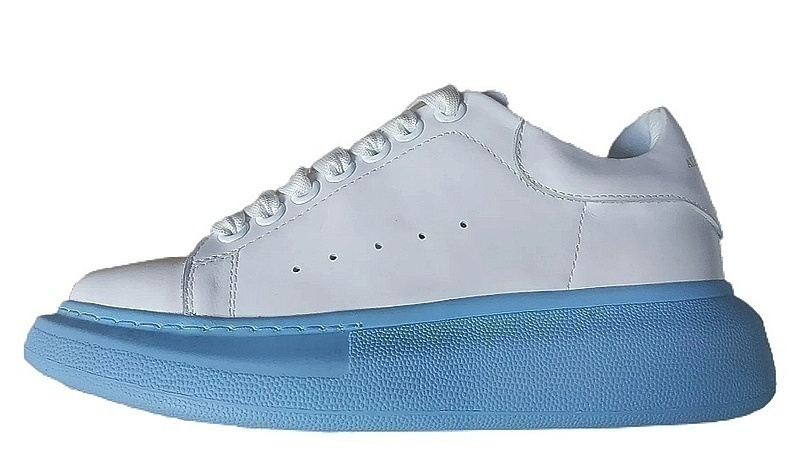 Кроссовки Alexander McQueen blue / white фото в «GetKeds»