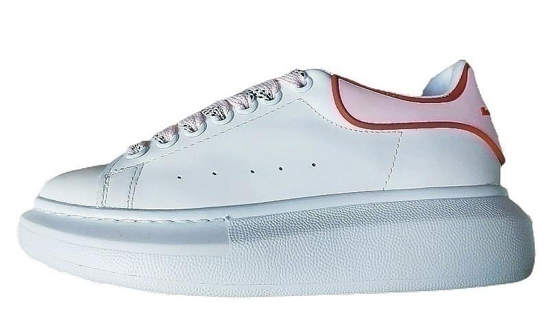 Кроссовки Alexander McQueen white / pink фото в «GetKeds»