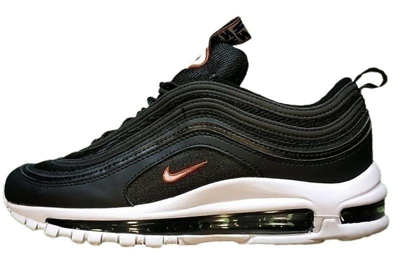 Кроссовки Nike Air max 97 black / white фото в «GetKeds»