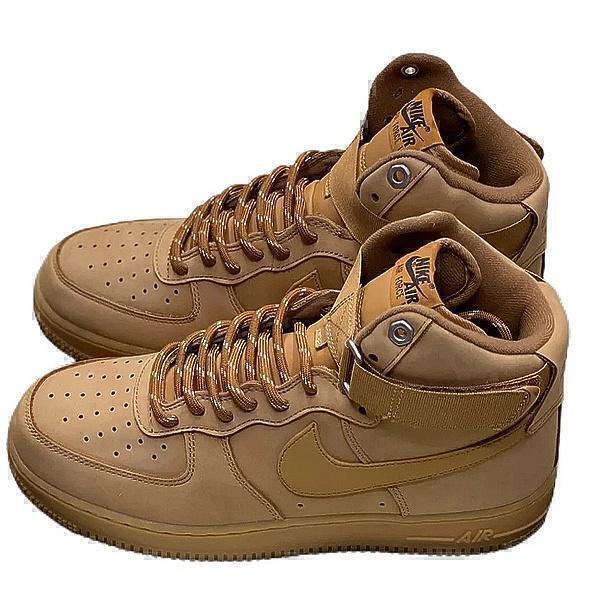 Nike Air Force 1 High (Brown) фото #3 в «GetKeds»