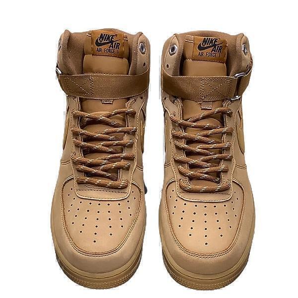 Nike Air Force 1 High (Brown) фото #2 в «GetKeds»