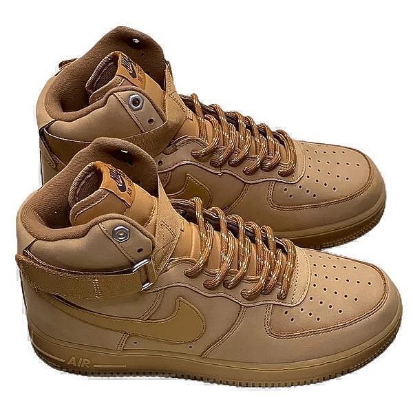 Кроссовки Nike Air Force 1 High (Brown) фото в «GetKeds»