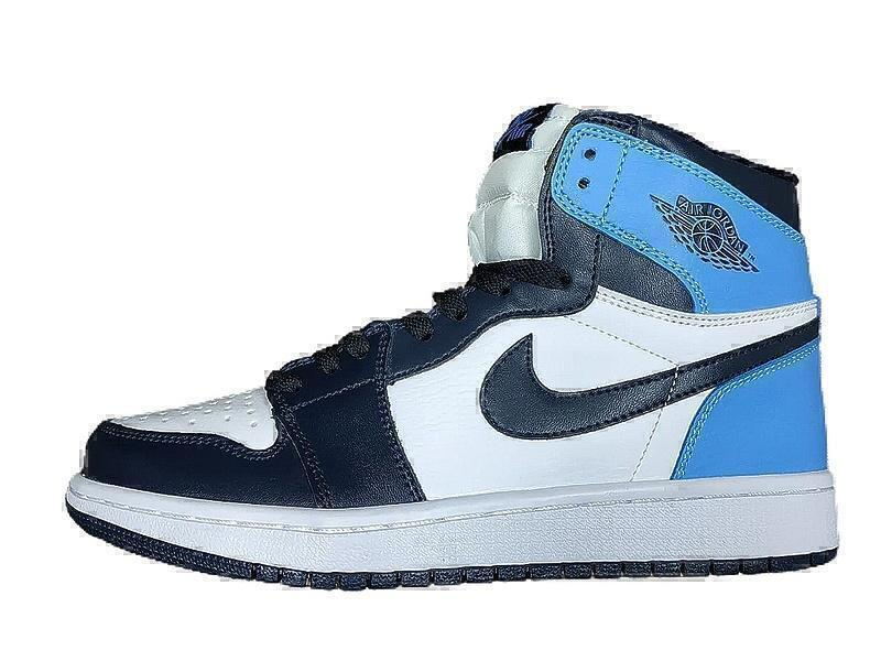 Кроссовки Nike Air Jordan 1 Retro High OG Obsidian/University Blue фото в «GetKeds»